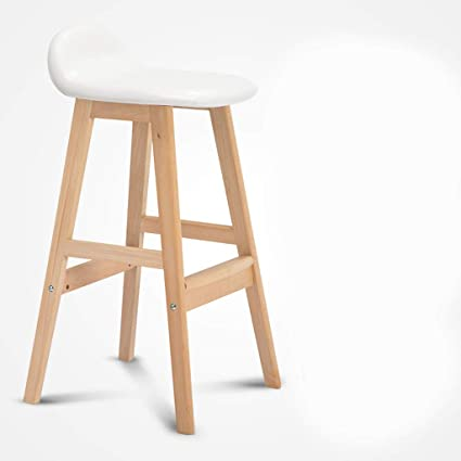 Stupendous Amazon Com Dr Bar Stools Solid Wood High Stool Chair Bar Frankydiablos Diy Chair Ideas Frankydiabloscom