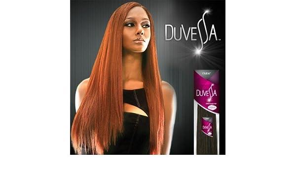 Amazoncom Outre Duvessa Remi Hair Extension 24 Yaki 1b Beauty