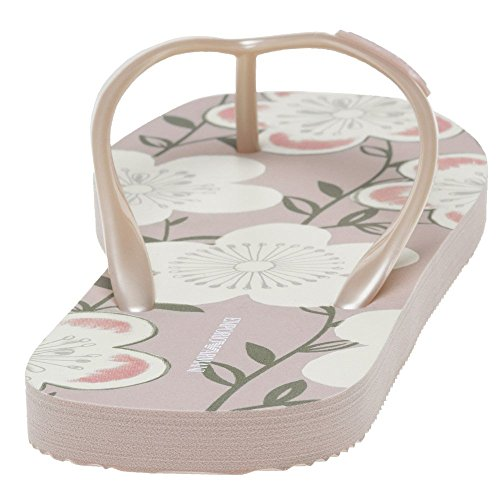 Pink Sandalen Floral Flip Armani Damen Pink Emporio wpBxWqZPnO