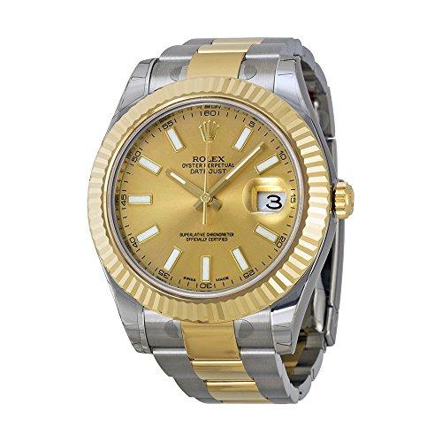 Rolex Datejust Champagne (Rolex Datejust II Champagne Dial 18k Two-tone Gold Mens Watch 116333CSO )