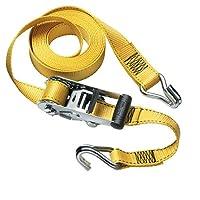 Cerradura maestra 3058DAT Amarre de trinquete de trabajo pesado de 15 pies por 1-1 /2 pulgadas