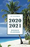 "At a Glance 2020-2021 Weekly Planner: Tropical Beach 2 Year / 24 Month Pocket Planner for Purse - Jan 2020 - Dec 2021 Calendar | Size: 5.5"" x 8.5"""