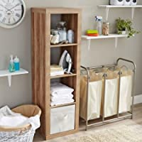 Versatile Better Homes and Gardens 4-Cube Organizer, Weathered