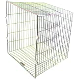 SPARES2GO Universal Zinc Coated Terminal Guard Square Deep Boiler Flue Cage (11 x 10 x 10.5) by Spares2go