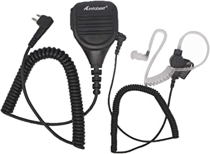 1-wire headset earphone For Motorola CT450LS DTR650V RDU2080D Hanheld