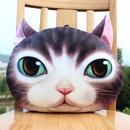 (3D Pillow Cushion Car Cushion Creative Cat Nap Pillow Cute Seat Cushion Birthday Gift)