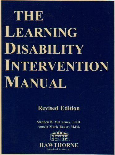 The Learning Disability Intervention Manual (00320)