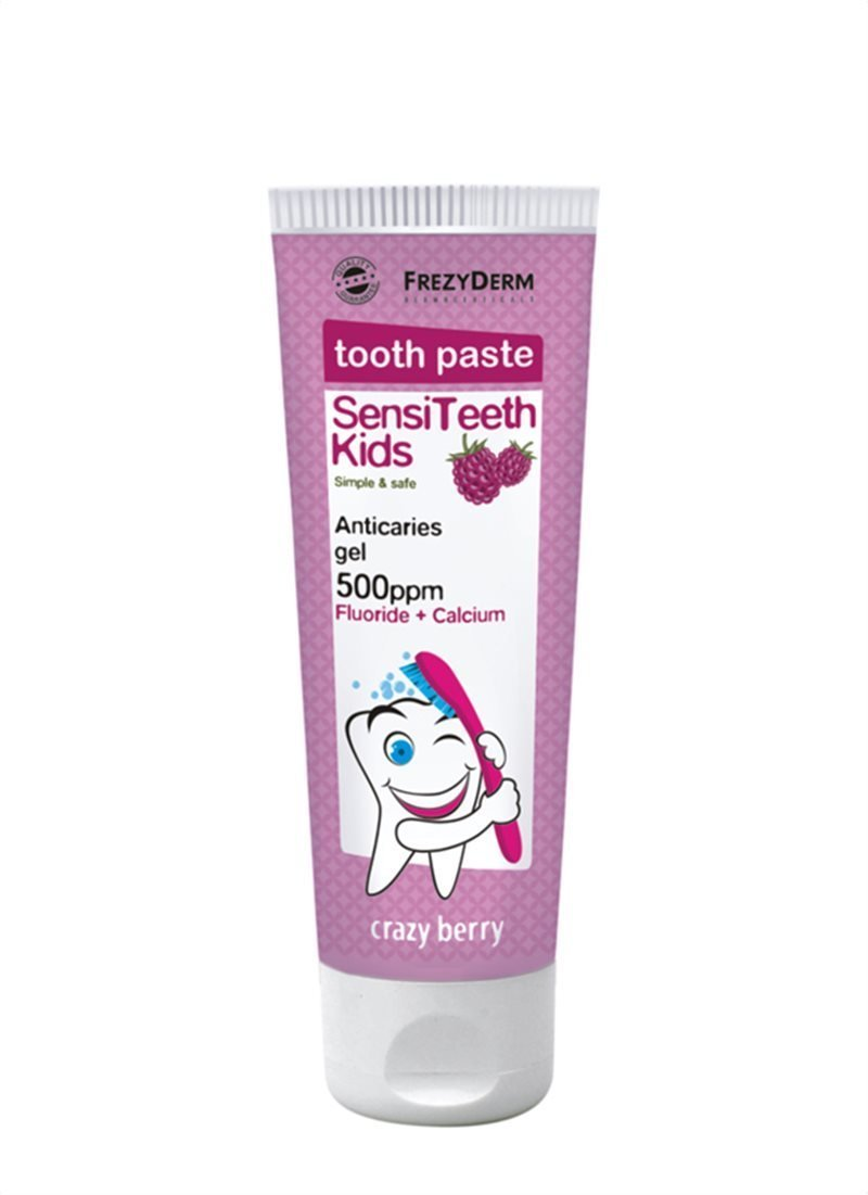 FREZYDERM Sensiteeth Kids Toothpaste, 500 ppm 423005