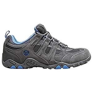 HI TEC Women's Saunter Walking Shoes, Grey, US7