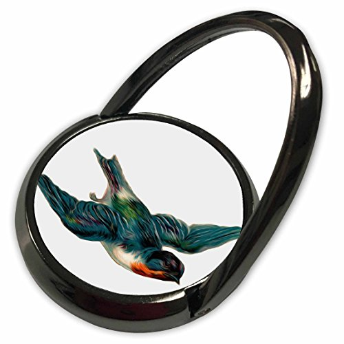 3dRose Dooni Designs Vintage Designs - Vintage Barn Swallow Bird Illustration - Phone Ring (phr_104615_1)