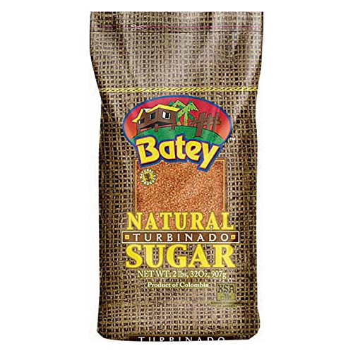 Batey Sugar Natural Turbinado, 2 (Natural Turbinado Sugar)