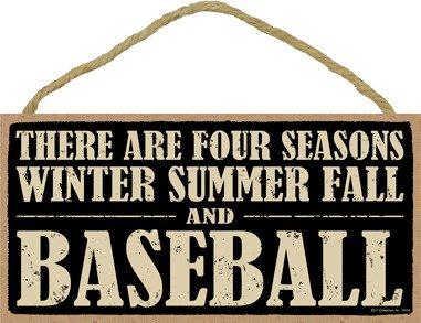 SJT ENTERPRISES, INC. There are Four Seasons Winter Summer Fall and Baseball 5