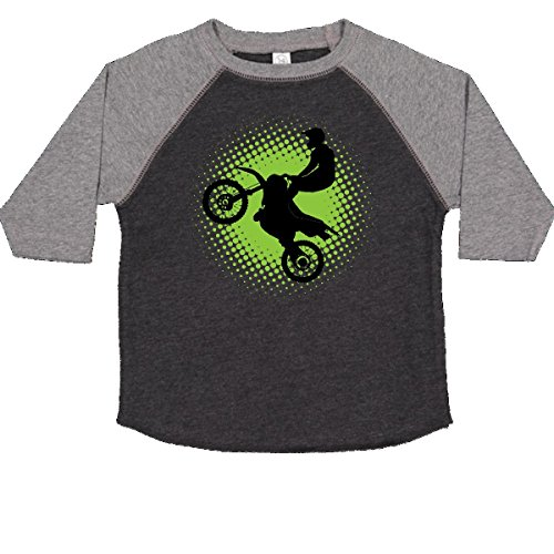 Granite Cross - inktastic - Motocross Rider Freestyle Toddler T-Shirt 3T Smoke and Granite 2de40