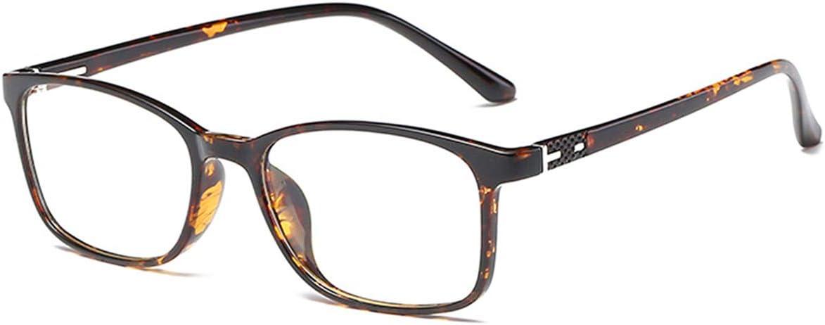 ANRRI Gafas de computadora con bloqueo de luz azul para protección UV Anti fatiga visual Lente transparente antideslumbrante, anteojos de lectura