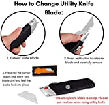 Internet's Best Premium Utility Knife - Set of 2