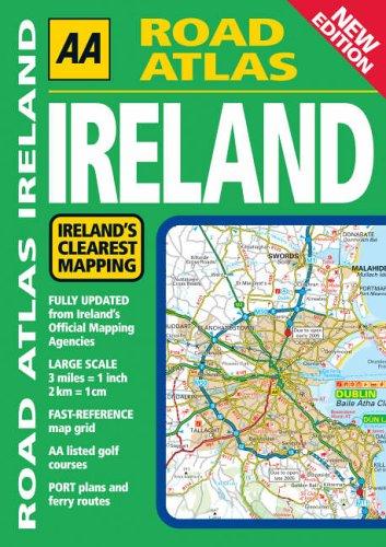 AA Road Atlas: Ireland (AA Ireland Road Atlas) -
