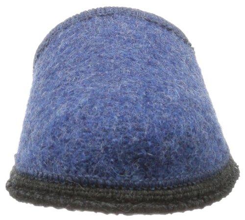 Beck Home - Pantuflas de fieltro unisex azul - Blau (blau)
