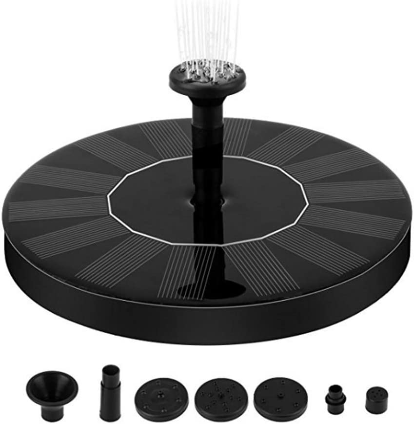 1.5W Upgrade Model Suspension Outdoor Pool Water Feature Flowing Water Floating Fountain Faraone4w Solar Fountain 7V