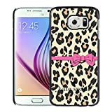 Luxurious And Nice Custom Designed Kate Spade Cover Case For Samsung Galaxy S6 Black Phone Case 200
