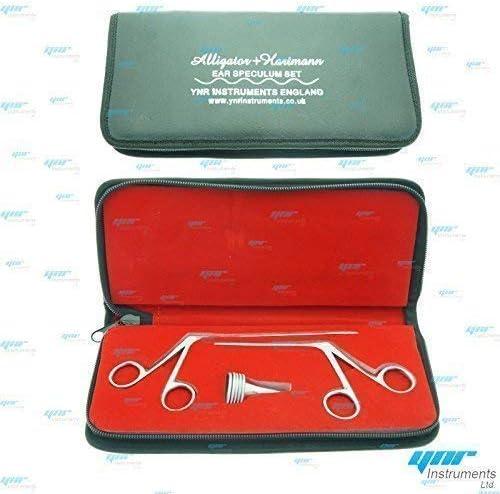5 Piezas Set Hartmann Oído Espéculo 2 X Micro Aligátor Ent Quirúrgico Nasal: Amazon.es: Salud y cuidado personal