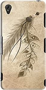 DailyObjects Bohemian Feather Case For Sony Xperia Z3