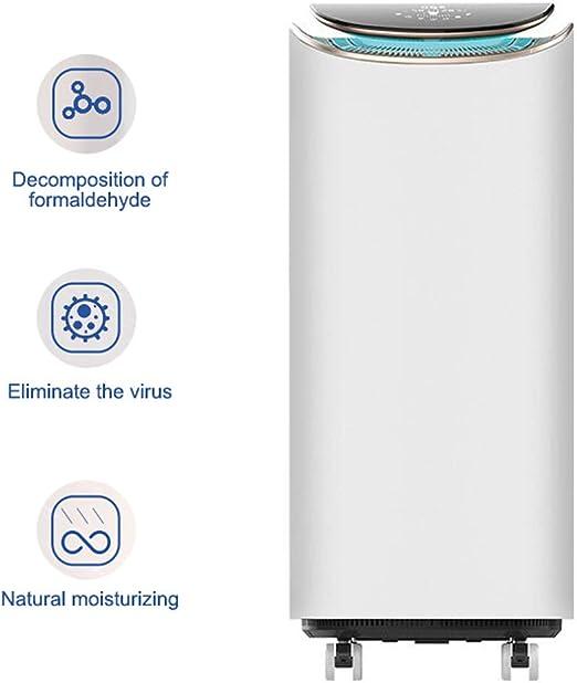 WLNKJ Purificadores De Aire, Hidratante Natural Pantalla Digital ...