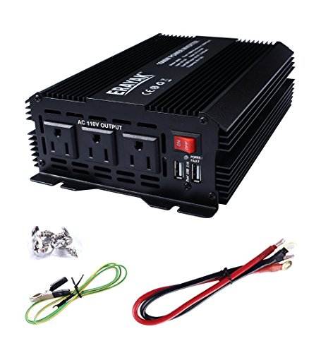 erayak-1000w-power-inverter-3-us-outlets31a-dual-usb-ports-w-alligator-clips-battery-clamps-cabledc1