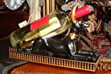 Egyptian Anubis Wine Bottle Holder - Collectible Egypt Decoration
