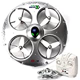KiiToys UFO Drone RC Quadcopter CX-31 - Flying Saucer 3D Flip Roll Helicopter, 6 Axis Gyroscope, 4 Channels Radio Control, 2.4 ghz 4CH Headless Mode