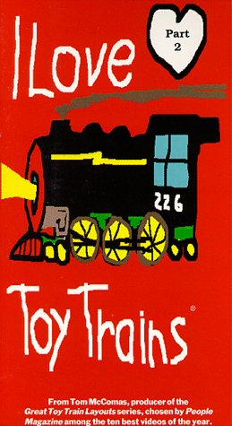 I Love Toy Trains, Part 2 [VHS] (Trains Store Love Toy)