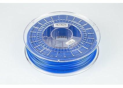 Filamento FiloAlfa 2.85mm PLA BLU ELETTRICO 700g