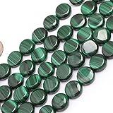 6x8mm Oval Gemstone Grade A Malachite Beads Strand 15 Inches Jewelry Making Beads