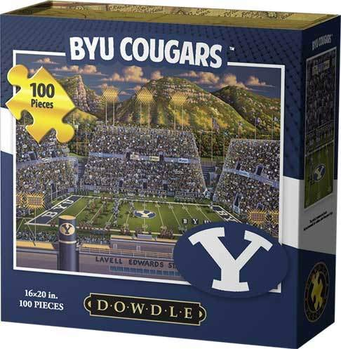 Dowdle Jigsaw Puzzle - BYU Cougars - 100 Piece ()