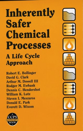 Inherently Safer Chemical Processes: A Life Cycle Approach (A CCPS Concept Book)