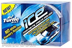 Turtlewax Turtle Wax Ice Car Synthetic Paste Polish Includes