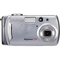 Samsung Digimax 530 5MP 3x Optical /5x Digital Zoom Camera Overview Review Image