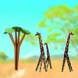 Giraffes On The Savannah Hanging Nursery Mobile