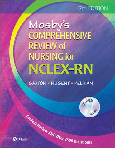 Mosby's Comprehensive Review of Nursing for NCLEX-RN (Book with CD-ROM for Windows & Macintosh)