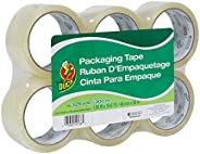 Duck Brand Standard Packing Tape Refill, 6 Rolls, 1.88 Inch x 54.6 Yard, Clear (1362513)