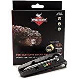 SteakChamp - The Ultimate Steak Thermometer 3rd Gen, 3 Color (Black)