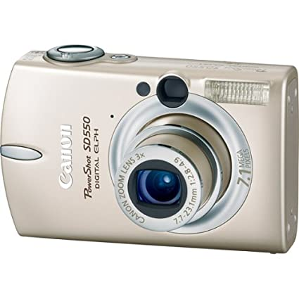 Buy Canon Powershot Sd550 7 1mp Digital Elph Camera With 3x Optical Zoom Beige Online At Low Price In India Canon Camera Reviews Ratings Amazon In