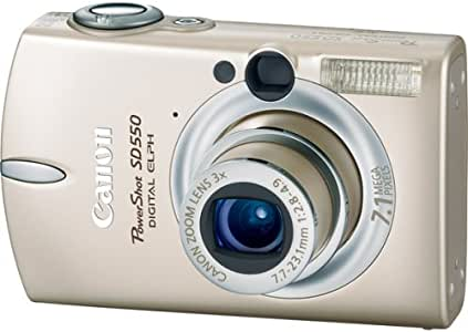 Canon Powershot SD550 7.1MP Digital Elph Camera with 3x Optical Zoom (Beige)