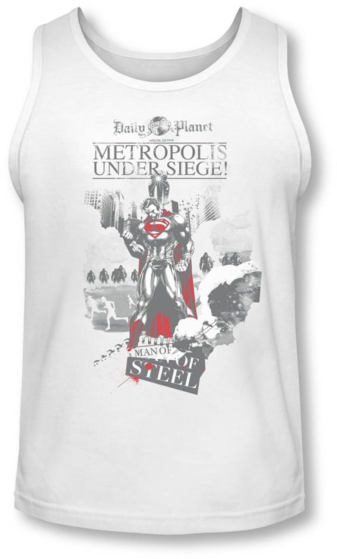 Man Of Steel - Mens Under Seige Tank-Top