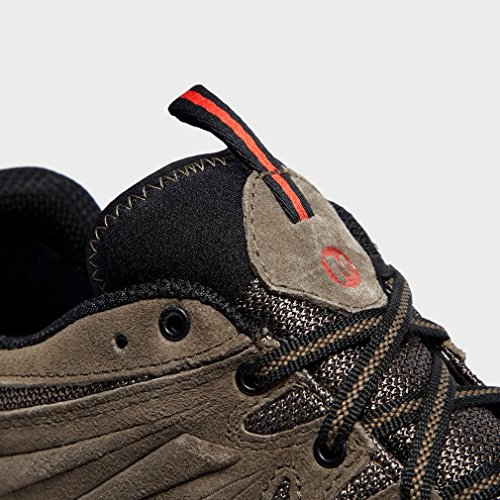 Marron de Basses Chaussures Homme Merrell Gris Randonnée Gore tex Capra qxwnAIBz