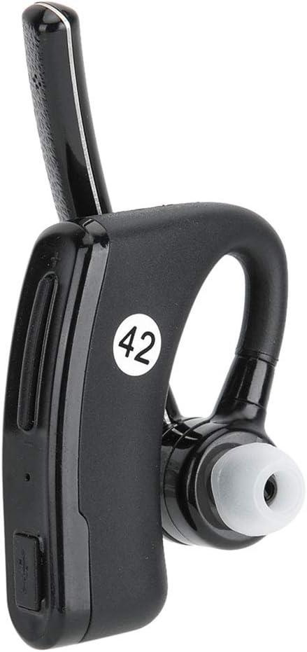 Auriculares inalámbricos Bluetooth Walkie Talkie, K Head auriculares PTT con control de audio y función de cancelación de ruido para Baofeng para Kenwood para Puxing para Wouxun radio bidireccional