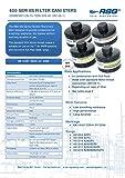 NATO 40mm NBC/CBRN Gas Mask Filter 6-Pak Newest