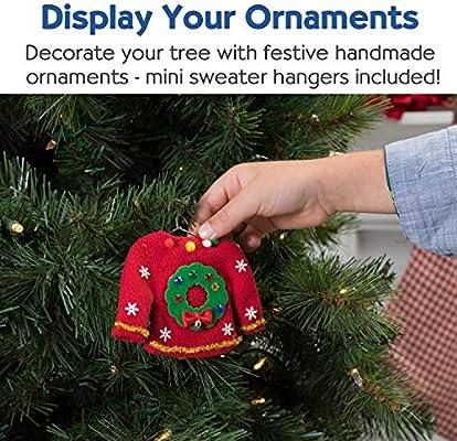 c4cb8c4513cd Amazon.com  Creativity for Kids 6192000 Sweater Ornaments - Create 3 ...