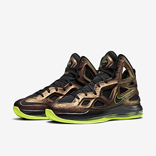 Hyperposite Deep NIKE Volt Basketball Burgundy Men's Zoom Air 2 Shoe Black EBq40B