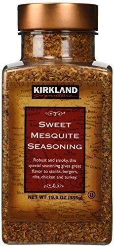 Kirkland Signature Sweet Mesquite Seasoning - 19.6 Oz (Pack of 3)