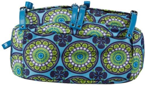 Sansibar Twister - Bolso de mano de material sintético mujer azul - Blau (aqua)